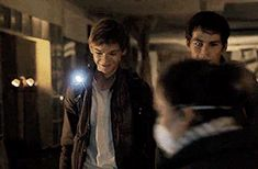 """Thomas Brodie-Sangster as Newt in """"The Scorch Trials"""" Maze Runner Thomas, Newt Maze Runner, Maze Runner Funny, Maze Runner Movie, Maze Runner Series, James Dashner, The Scorch Trials, Thomas Brodie Sangster, Dylan O'brien"""