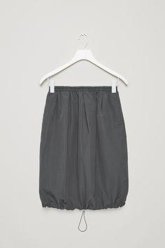 COS | Technical drawstring skirt
