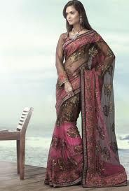 Many families opt for much lighter sarees such as silk and crepe in own wedding
