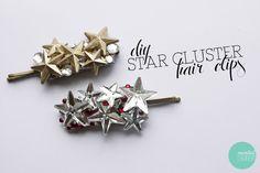 DIY Christmas Giftables: Star Cluster Hair Clip