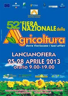Tutto pronto a Lanciano per la Fiera dell'Agricoltura n. 53. Dall'11 aprile   L'Abruzzo è servito   Quotidiano di ricette e notizie d'Abruzzo