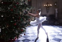 Dancer Daisy Kerry poses as the Snow Queen from The Nutcracker, for the annual Christmas event at Chatsworth House near Bakewell in Britain on November 4, 2016. #  Darren Staples / Reuters  Photos of the Week: 10/29–11/4 - The Atlantic