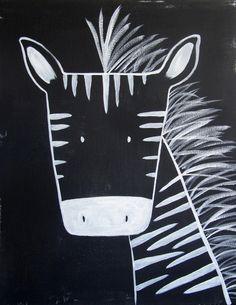 0013 – Modern Kids and Nursery Art – The Zebra Art Print No. 0013 – Modern Kids and Nursery Art – The Zebra Art Print Zebra Kunst, Zebra Art, Zebra Drawing, Afrique Art, Kindergarten Art, Modern Kids, Modern Art, Art Classroom, Chalk Art