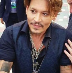 May-2017 Johnny Depp! Love the smile.