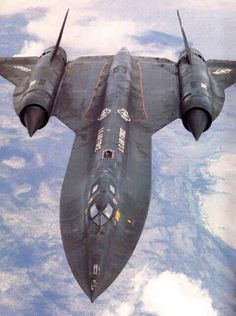 """The SR71 Blackbird - I've been reading """"Sled Driver"""" and have these on the brain. Absolutely nothing cooler"""