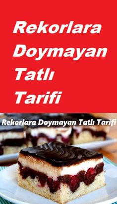Cassette Dessert in 8 Minutes - Dessert Recipes Cold Desserts, Lemon Desserts, Easy Cake Recipes, Dessert Recipes, Pasta Cake, Turkish Recipes, Food And Drink, Cooking Recipes, Yummy Food