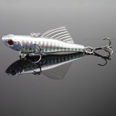 14g 6.5cm winter fishing lures hard bait VIB with lead inside lead fish ice sea fishing tackle swivel jig wobbler lure