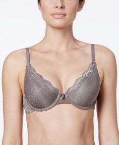 Maidenform One Fab Fit Embellished Scallop Neckline Demi Bra 9471 $36.00 Start your day with some pretty, feminine details. The One Fab Fit Embellished Scallop Neckline Demi Bra by Maidenform. Style #9471