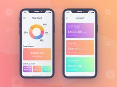 Finance Mobile App UI