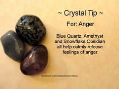 crystals for healing anger