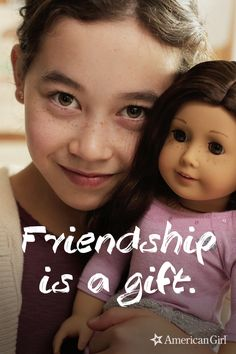 Having a best friend brings a smile to everyone's face Cosas American Girl, Friends Forever, Best Friends, Little Ones, Little Girls, Bright Quotes, Future Daughter, Bitty Baby, Early Childhood Education