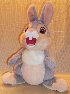 "Authentic Disney Parks Thumper 16"" Stuffed Plush Bambi Rabbit Soft Bunny #Disney"