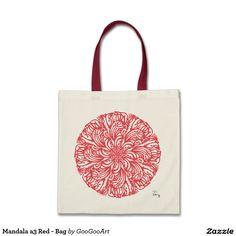 Mandala a3 Red - Bag
