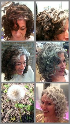 What a great documentation of how to grow your grey out and maintain a subtle look in the process.