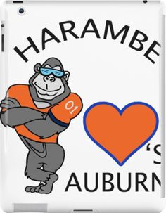 Harambe Loves Auburn Alabama