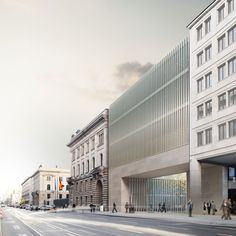 Expansion of Federal Council headquarters. Berlin