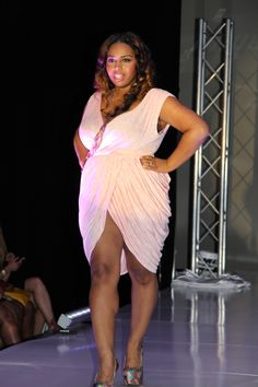 Curves rock runway