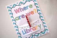 Live Laugh & Learn in Second Grade: Monday Made It: Where Are We?