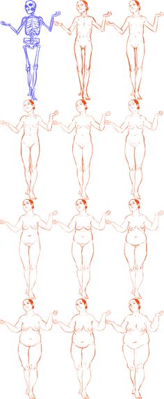 Varying your body types, by Sara D (dredsina on tumblr)