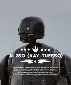Star Wars Rogue 1 K-2S0