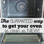 This step-by-step tutorial will show you how to clean between oven window glass. All you need is a Windex wipe, rubber band and a wire hanger. You won't believe how easy it is!