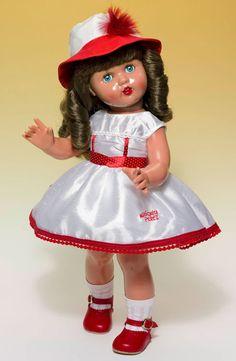Mariquita Perez Con Vestido Shantu Blanco Y Rojo - Tienda De Muñecas De Mariquita Perez - Diversal