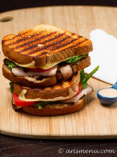 Turkey Pastrami sandwich yummy!!!!
