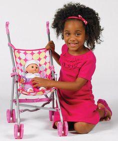 Another great find on #zulily! Umbrella Doll Stroller #zulilyfinds