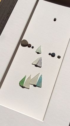 Sea+glass+and+pebble+art+by+sharon+nowlan+by+PebbleArt+on+Etsy,+$150.00