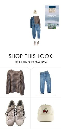 """""""Без названия #204"""" by starlord-8 ❤ liked on Polyvore featuring Majestic Filatures, Levi's, adidas, Wilt and Sandy Liang"""
