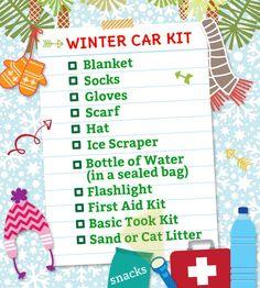 Omaha Family: Winter Car Kit | ParentSavvy