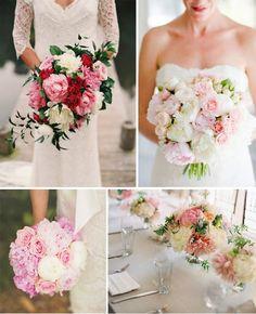 Repin It - And I'll Repin Your Pin! Wedding Bouquet Ideas: http://diyweddingidea.blogspot.com/2015/02/summer-wedding-flowers-for-romantic.html