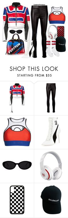 """""""FW: Looking like a live anime character"""" by catalinachristiano ❤ liked on Polyvore featuring Unravel, Helmut Lang, P.E Nation, Puma, Beats by Dr. Dre, Louis Vuitton, Balenciaga, Vetements and catalinachristiano"""