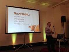 Speaking about the marketing implications of the McGurk Effect to the Stamford Tech Meetup on April 27, 2015.