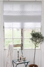Roman blind - can be almost see-through