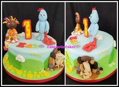 In the Night Garden Cake @CakeBelleCakes