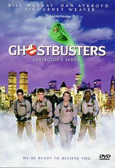 Ghostbusters...I had all these toys when I was little...actually I probably still do!