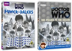 The Power of the Daleks DVD Covers