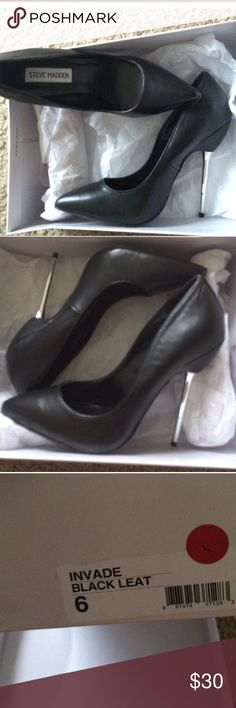 Steve Madden heels! Brand new Steve Madden heels size 6 come with box Steve Madden Shoes Heels