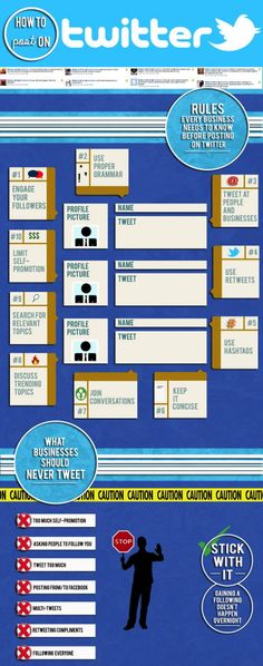 #Twitter for your #Business #infographics