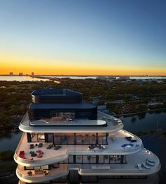 Stunning Penthouse at Luxury Condo Faena House in Miami by Foster + Partners