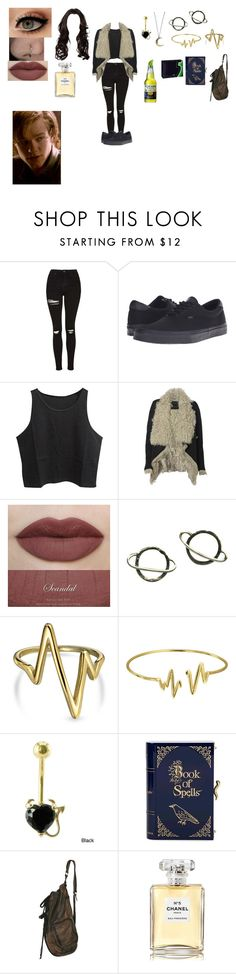 """""""✨""""Have you ever met a witch?"""" """"No.."""" """"You just did.""""✨"""" by the-mighty-kc ❤ liked on Polyvore featuring Topshop, Vans, AllSaints, Stefanie Sheehan Jewelry, Bling Jewelry, Charlotte Olympia, Chanel, OC and wolves"""
