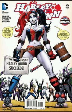 from $16.0 - Dc #Comics Harley Quinn # 25 Cvr B Neal Adams Variant   Nm