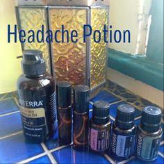 Headache & Sleeping Potions | Angie Eats Peace on WordPress.com