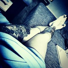 Luv my legs.. i wanna more and more tatts