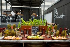Bloody Mary & Michelada Bar at SXSW | Crave Catering Austin | Austin, Texas | 2013