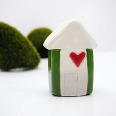 Little House made from Ceramic Clay