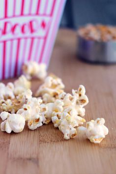 Snacking on Cool Ranch Popcorn is where it's at. The kids will love it!