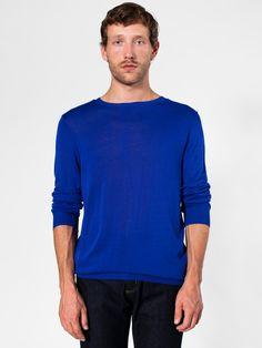 Knit Sweater Crew Neck | Tops | Sale's Men | American Apparel