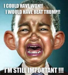 Does he not hear him self?????...OBAMA you had your run for the last 8yrs so try to just gracefully-oops too late-ok just quietly-oops too late-tactfully-oops too late-show good leadership-oops too late-Well Dang it-...ok just ACCEPT YOUR DONE ✅ UGH